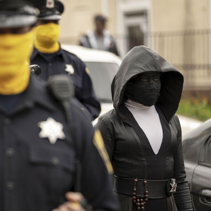 Regina King in <em>Watchmen.</em>