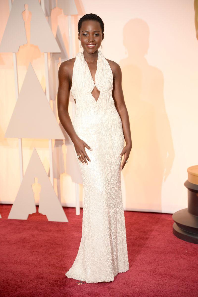 Lupita Nyong O Fall 2015 Oscars Red Carpet The Cut