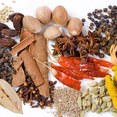 Authentic Raw Indian Spices...series