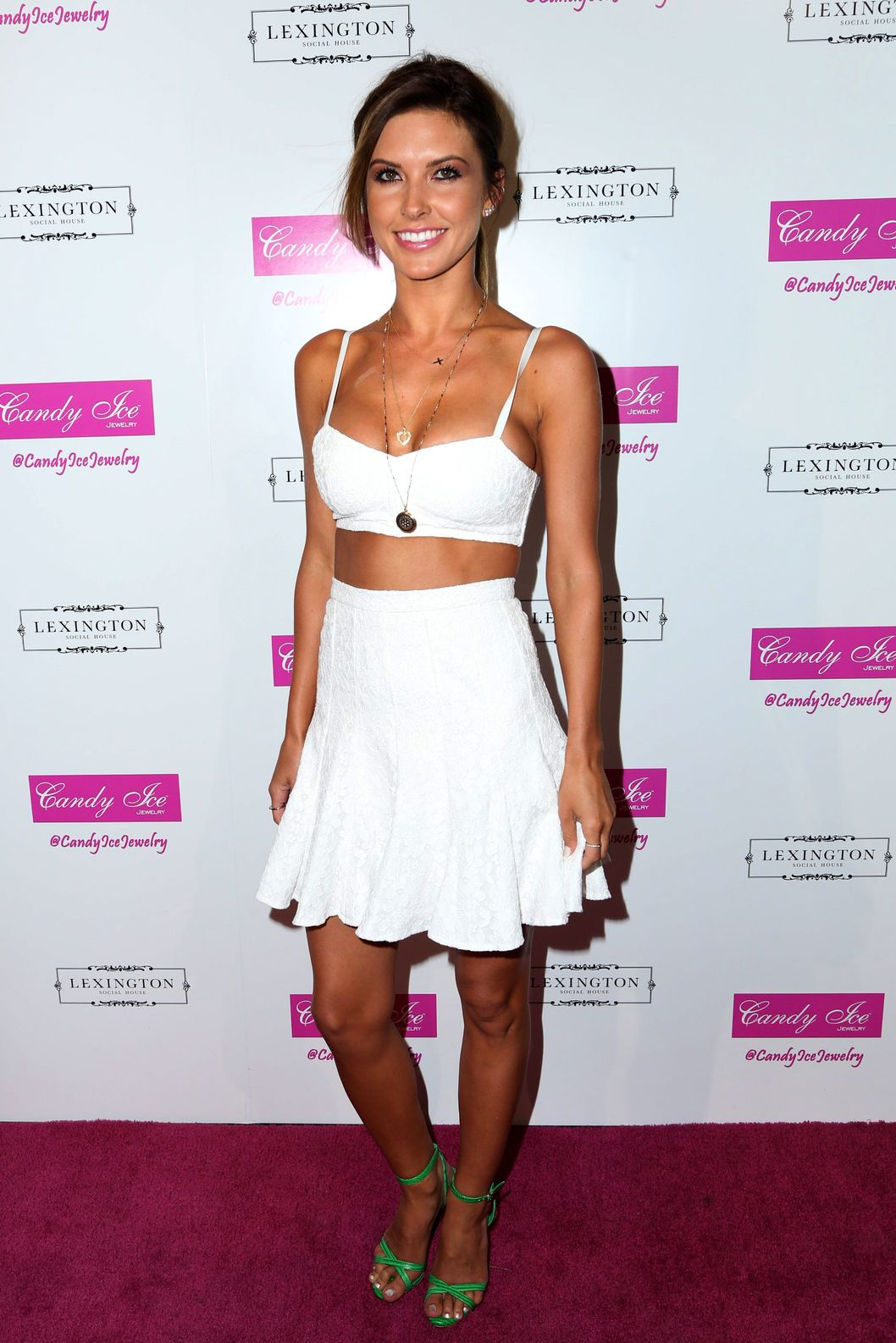 Audrina Patridge at the Fire and Ice Gala benefiting Fresh2o in Hollywood, CA.