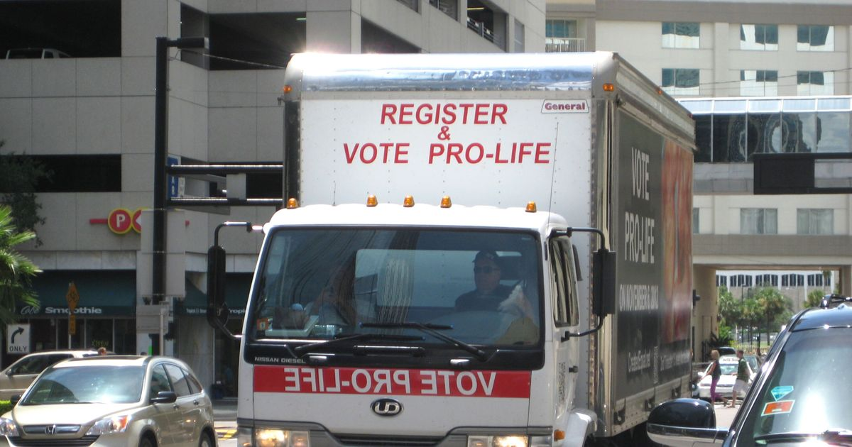 Us Kilgore Dispatcher: Trucks Plastered With Graphic Photos Of Aborted Fetuses