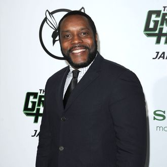 Actor Chad Coleman arrives at Columbia Pictures' 'The Green Hornet' premiere at Graumans Chinese Theatre on January 10, 2011 in Hollywood, California.