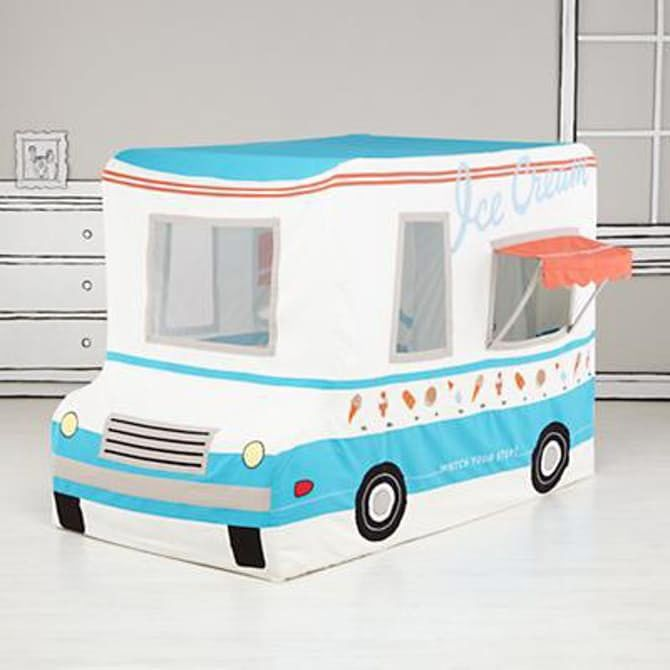 The Land of Nod Freezy Dream Ice-Cream Truck Tent