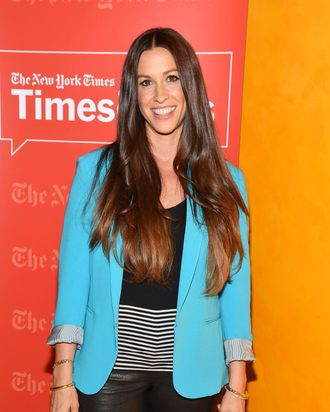 Singer/actress Alanis Morissette attends TimesTalk Presents An Evening With Alanis Morrisette at TheTimesCenter on June 19, 2012 in New York City.