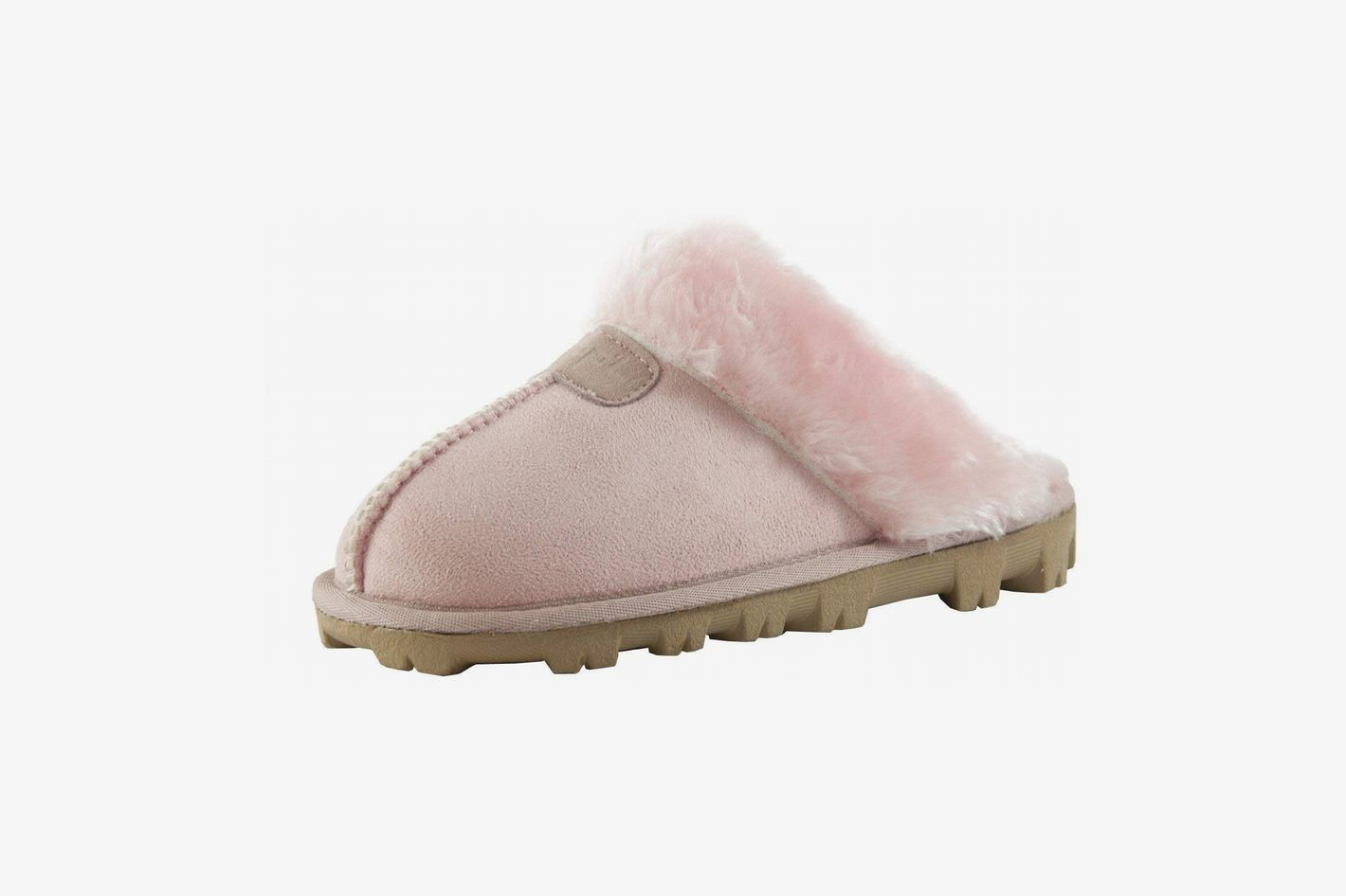 faf3e0a7fde Clppli Women s Slippers With a Faux Fur Trim