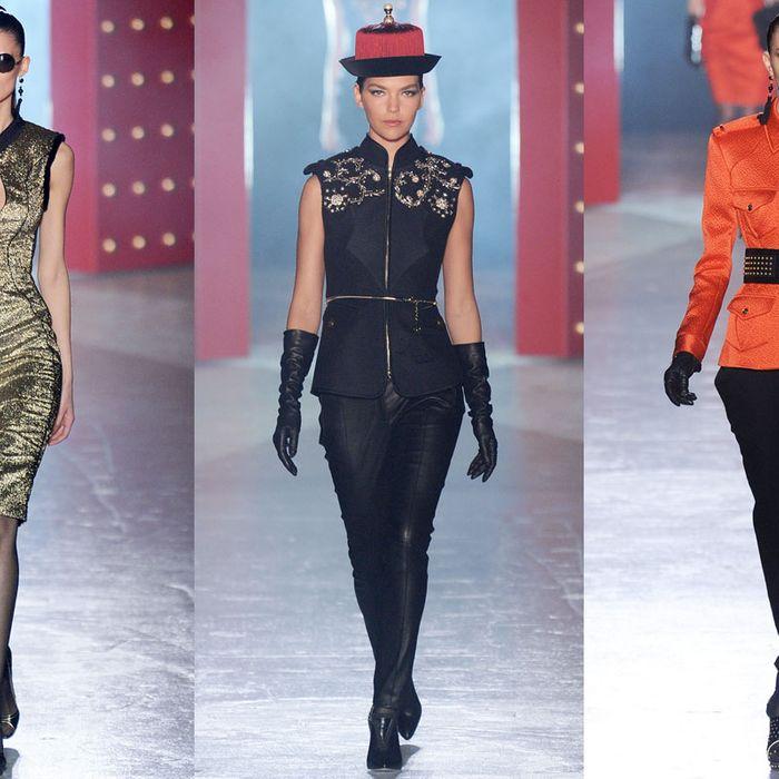 Jason Wu's China-inspired fall 2012 collection.