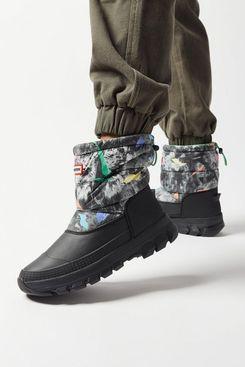 Hunter Original Printed Insulated Short Snow Boot