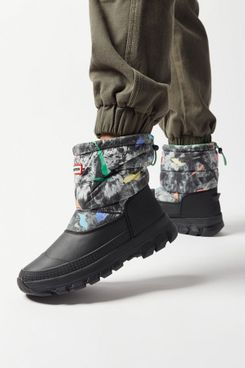 Hunter Original Printed Insulated Short Snow Boot