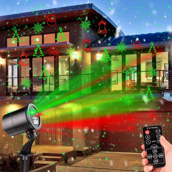 Laserlight Christmas Spotlight Projector