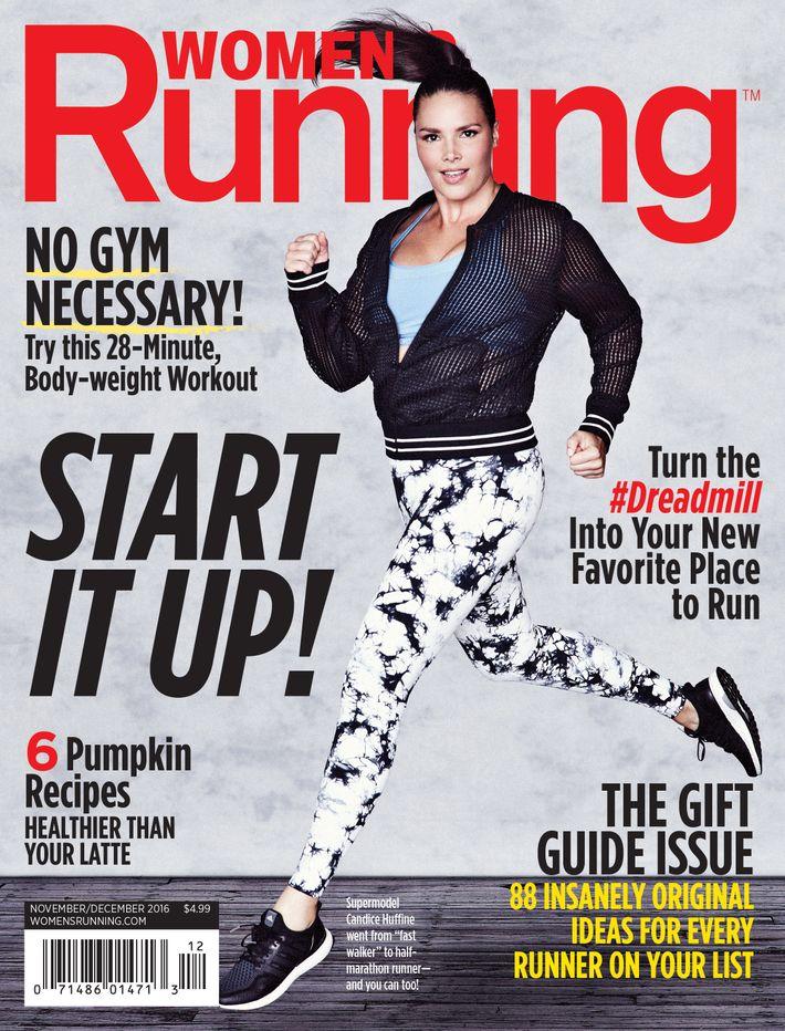 Huffine on the November December 2016 cover of Women s Running. Photo  Women s  Running 7e696e3d57