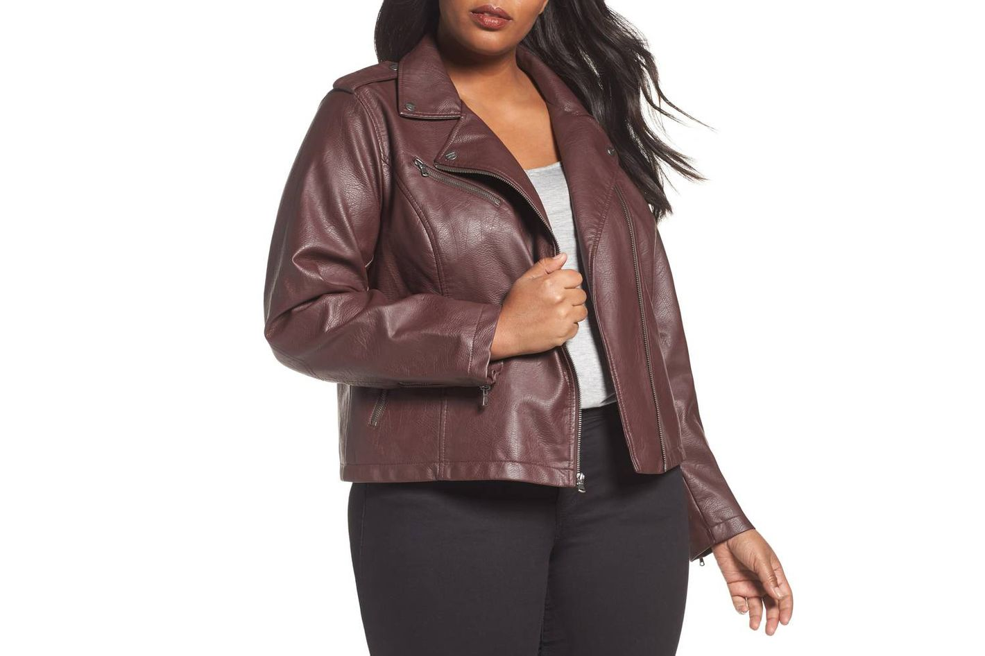 11e187ee5ce 12 Best Plus Size Moto Jackets for Women 2018