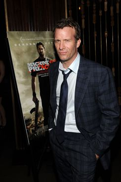 """NEW YORK, NY - SEPTEMBER 13:  Actor Thomas Jane at the Diesel Black Gold Hosted Special Screening of Relativity Media's """"Machine Gun Preacher"""" After Party at The Royalton Hotel on September 13, 2011 in New York City.  (Photo by Larry Busacca/Getty Images for Relativity Media)"""