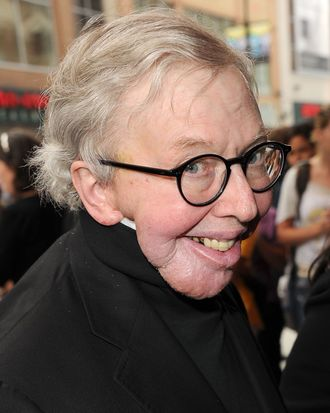 TORONTO, ON - SEPTEMBER 13: Film critic Roger Ebert arrives at