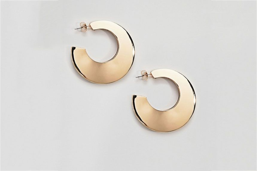 Pieces Chunky Hoop Earrings