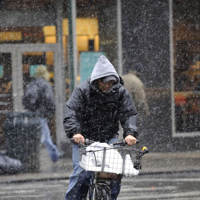 Tip well, rain or shine.
