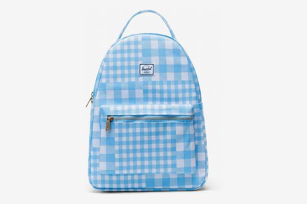 Herschel Supply Co. Nova Mid-Volume Gingham Alaskan Blue Backpack