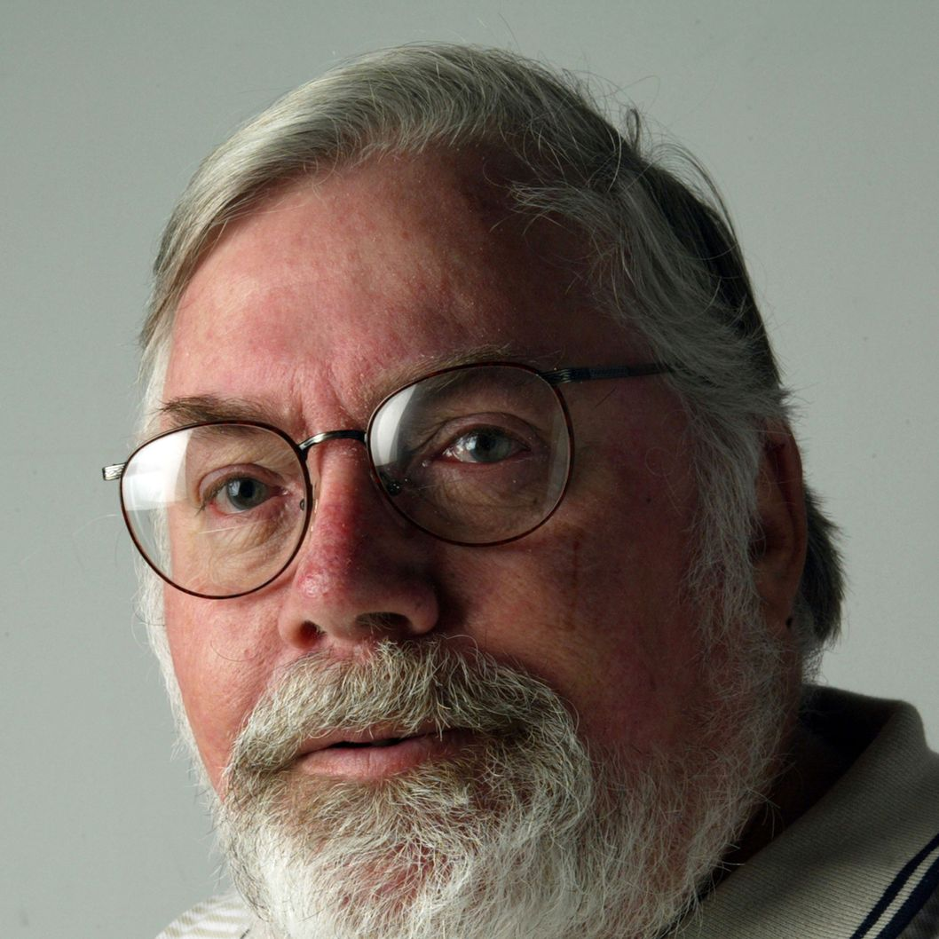 Philadelphia Daily News sports columnist Bill Conlin in a 2003 file photo.