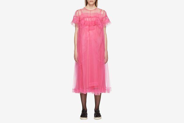Chika Kisada Pink Tulle Dress