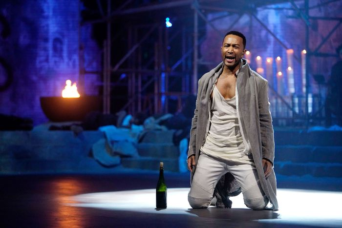 John Legend in Jesus Christ Superstar.