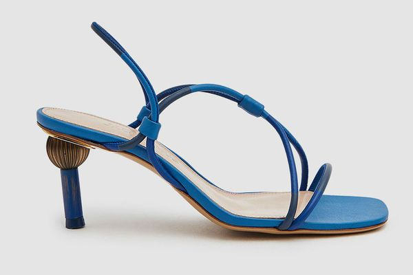 Jacquemus Olbia Totem Heel Sandal