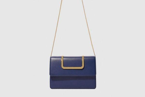 Eenk Navy Handbag