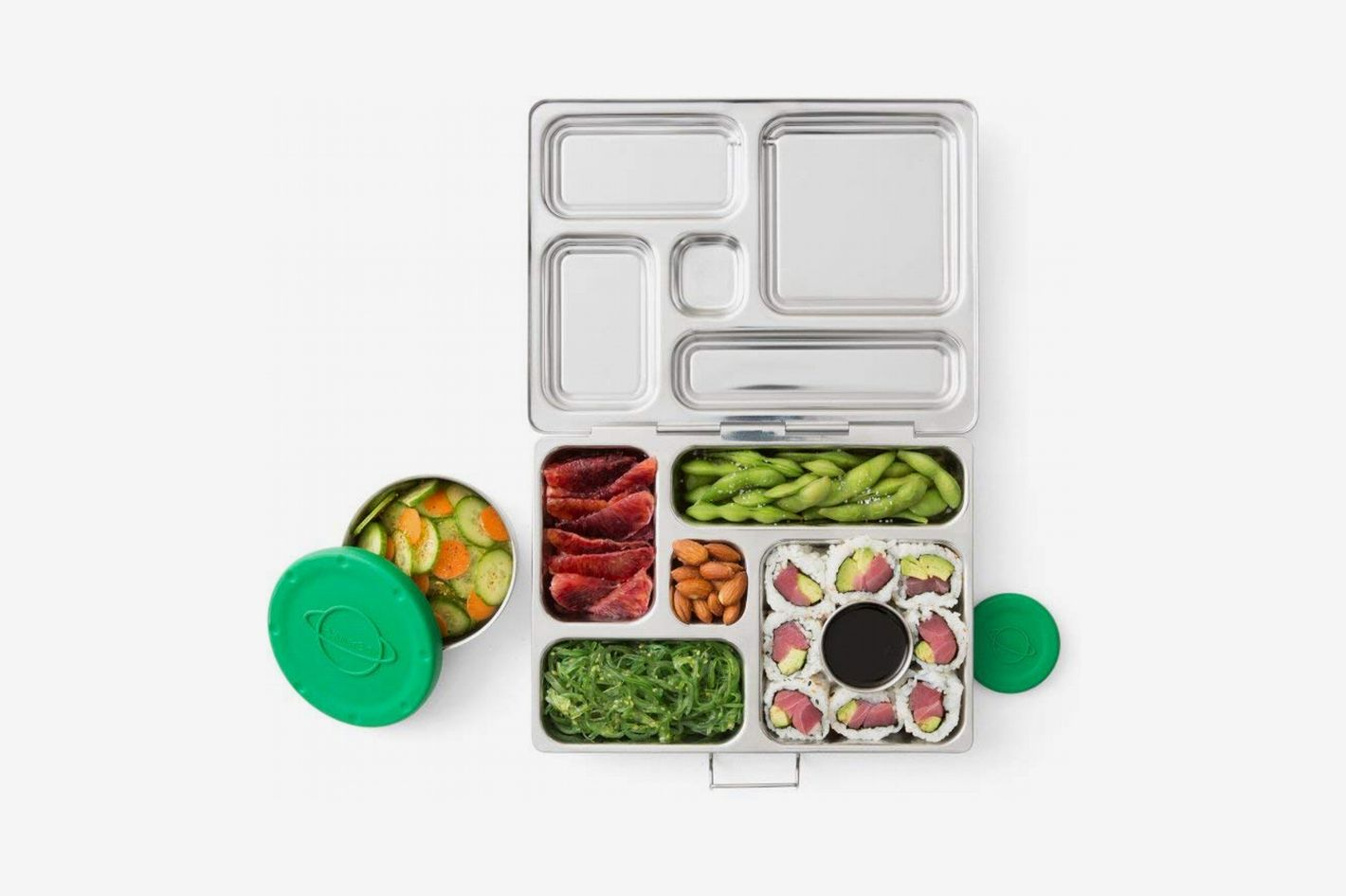 PlanetBox Rover Eco-Friendly Stainless-Steel Bento Lunch Box