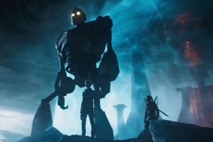 The Iron Giant Is Ready to Tell Us Where He's Been