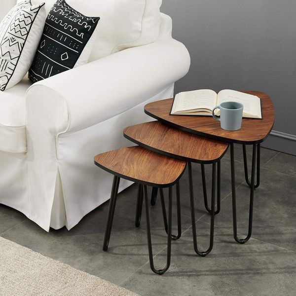 VECELO 3-Piece Nesting Side Tables