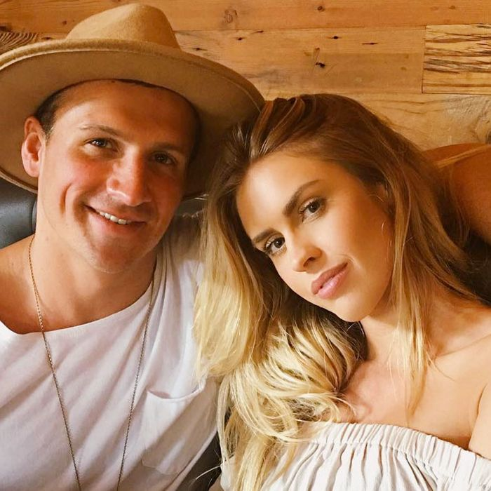 Ryan Lochte and Kayla Rae Reid.