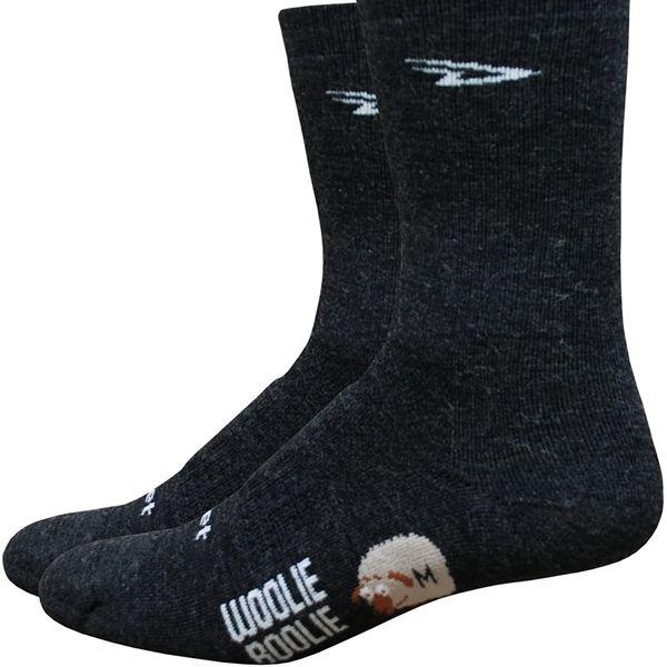 DEFEET Men's Woolie Boolie 6-Inch Socks