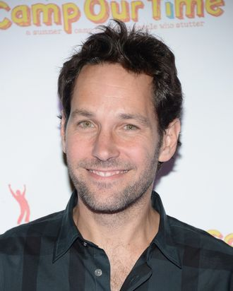 NEW YORK, NY - OCTOBER 21: Paul Rudd attends the Paul Rudd 2nd Annual All-Star Bowling Benefit at Lucky Strike on October 21, 2013 in New York City. (Photo by Theo Wargo/Getty Images)