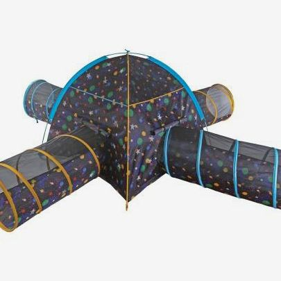 Pacific Play Galaxy Combo Junction With Glow In The Dark Stars