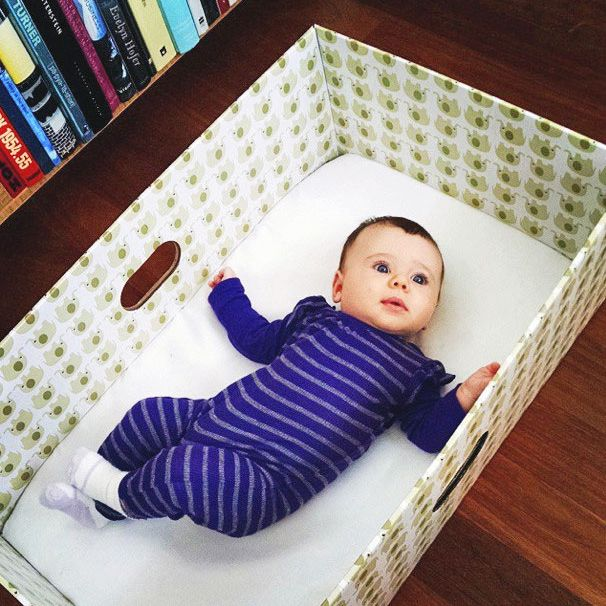 A baby box you can purchase.