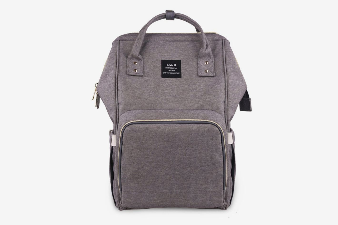Land Diaper Bag in Gray