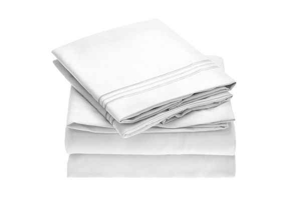 Mellanni Bed Sheet Set — Brushed Microfiber 1800 Bedding