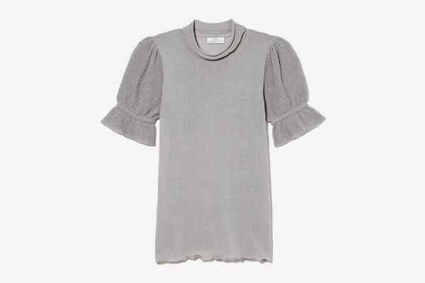 Co Short-Sleeved Cotton Knit