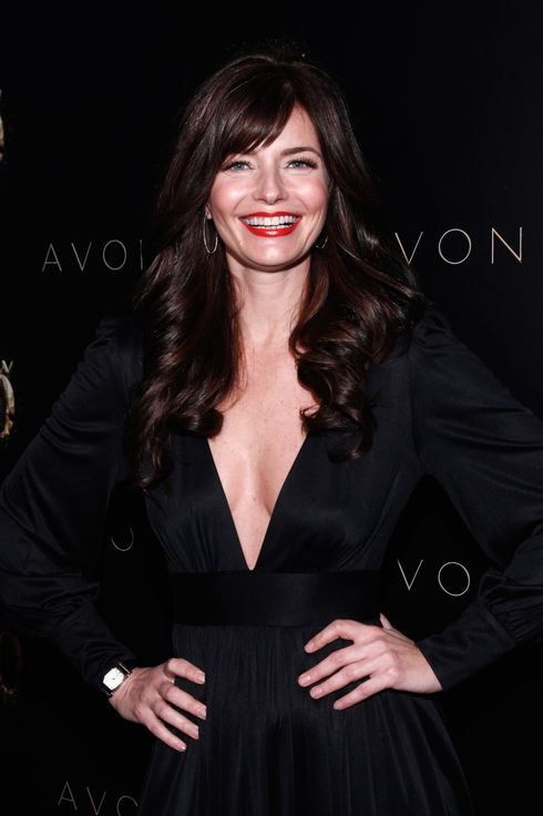 NEW YORK, NY - JANUARY 25:  Paulina Porizkova attends Avon Celebration of ANEW's 20th Birthday at Thom Bar on January 25, 2012 in New York City.  (Photo by Brian Ach/Getty Images for Avon)