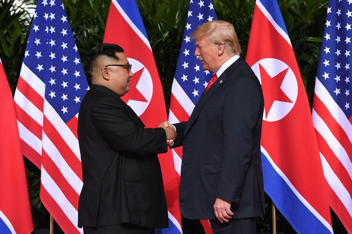 Image result for trump kim jong un