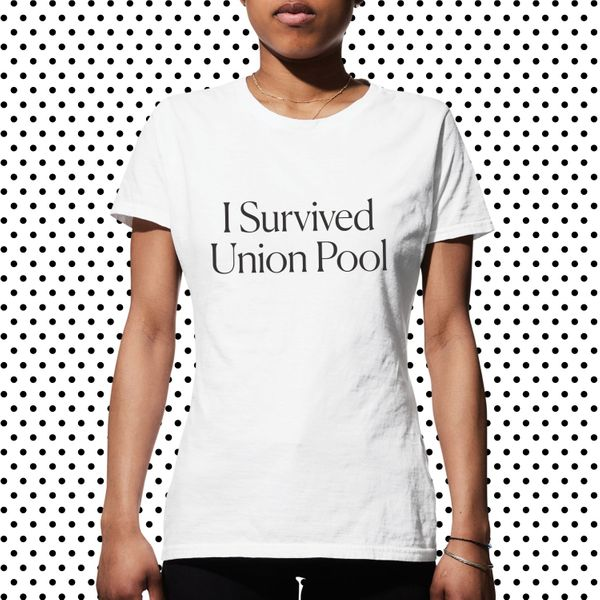 I Survived Union Pool Tee