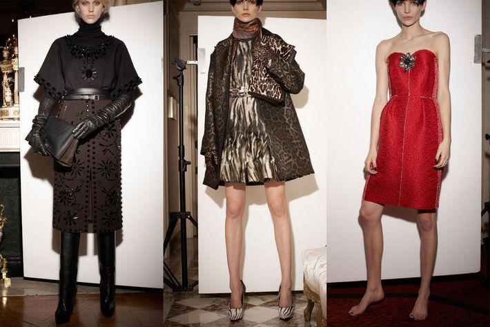 Lanvin's pre-fall 2013 collection.