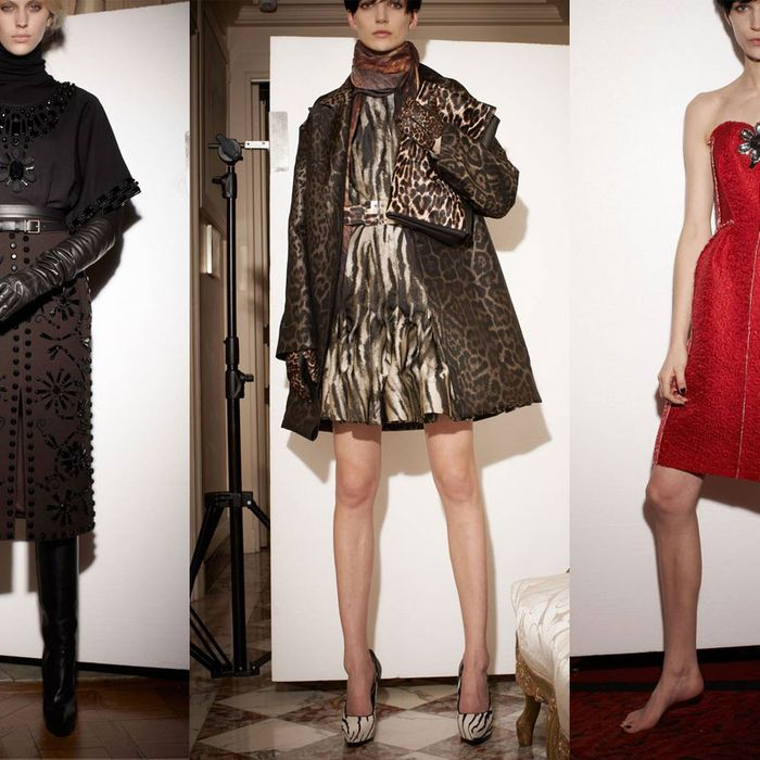 Lanvin's pre-fall 2013 collection.