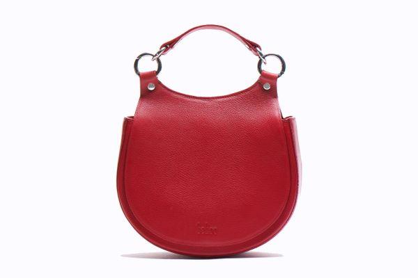 Behno Tilda Saddle Bag Pebble Red