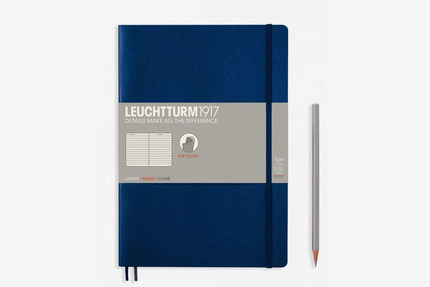 Leuchtturm Softcover Composition B5 Ruled Notebook