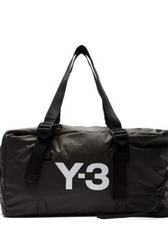 black y-3 weekend bag - strategist fashion summer sale