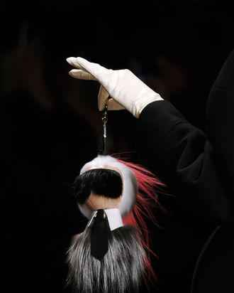 1c53affb71 There's a 600-Person Wait List for Fendi's Karl Charm