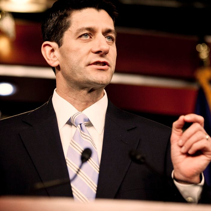 House Budget Chairman U.S. Rep. Paul Ryan (R-WI) introduces the House Budget Committee's FY2013 budget