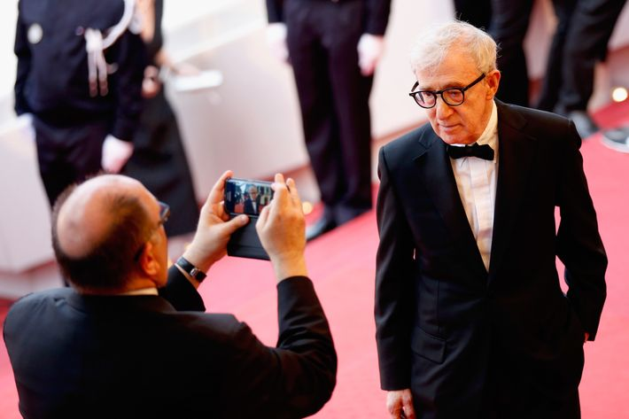Woody Allen at Cannes.