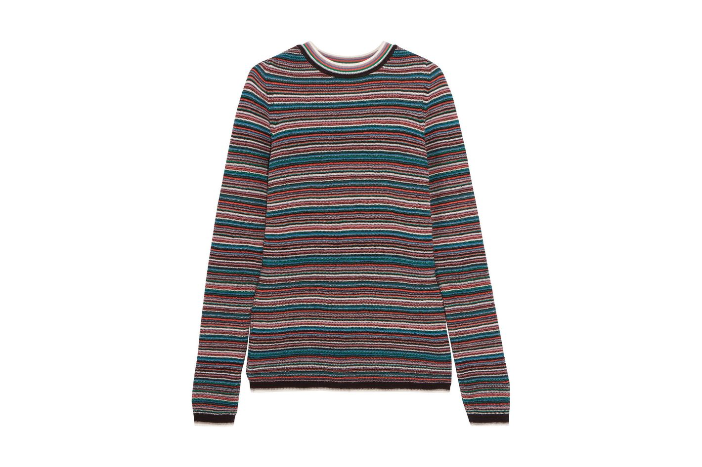 M.I.H JEANS Moonie striped merino wool sweater