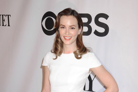 "08 Jun 2014, New York City, New York State, USA --- Actors/newlyweds Leighton Meester and Adam Brody arrive for the 2014 Antoinette Perry ""TONY"" Awards presented by The Broadway League and the American Theatre Wing. Held at Radio City Music Hall at Rockefeller Center in NYC Pictured: Leighton Meester --- Image by ? Johns PKI/Splash News/Corbis"
