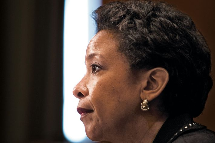 Attorney General Loretta Lynch appears before the Subcommittee on Commerce, Justice, Science, and Related Agencies on Capitol Hill in Washington.